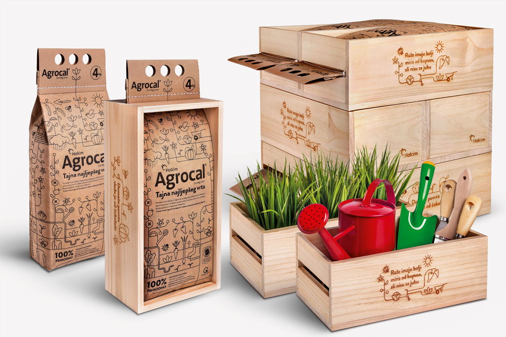 Holcim Agrocal on Packaging of the World  Creative