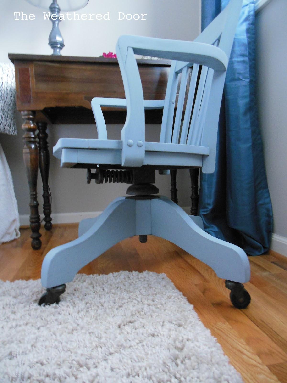Slate Banker S Chair The Weathered Door