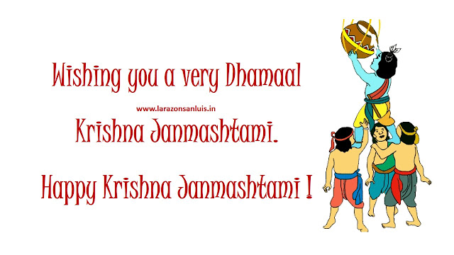 happy janmashtami images wallpaper