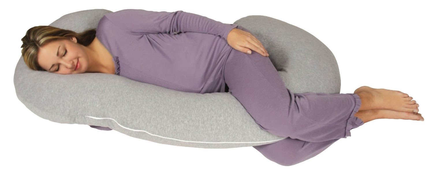 Best Pregnancy Pillow Welcome Snoogle Chic Jersey Snoogle