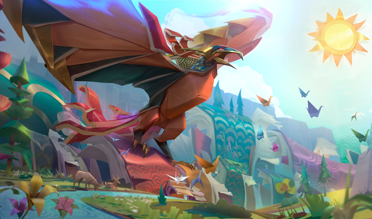 Surrender At 20 2 8 Pbe Update Papercraft Splash Art