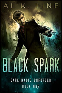 Black Spark (Dark Magic Enforcer Book 1) - a Fresh Take on Urban Fantasy by Al K. Line