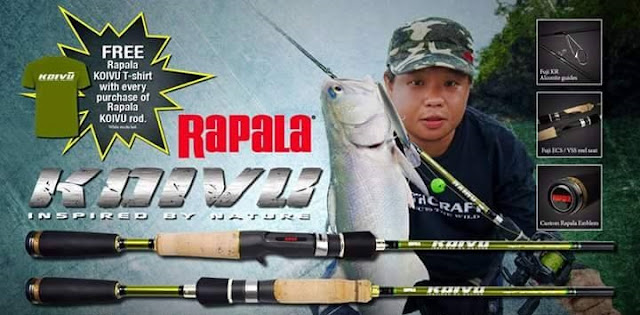 Review Rod Rapala Koivu 2015 - Rod Untuk Casting