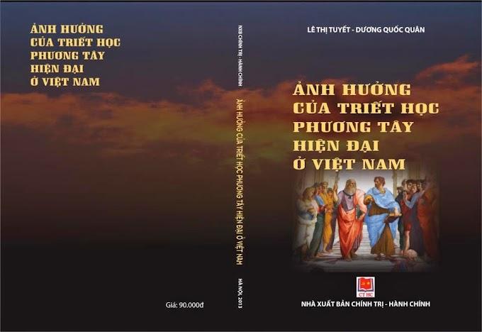 TS. Lê Thị Tuyết - Sự du nhập của triết học phương Tây hiện đại vào Việt Nam