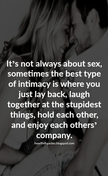 physical intimacy quotes relationship