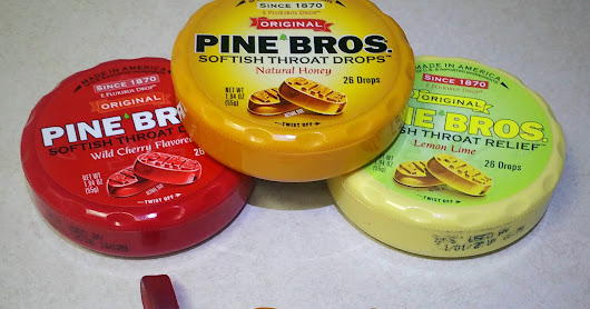 Pine Bros. Softish Throat Drops Give Soothing Relief + $25 Target GC Giveaway