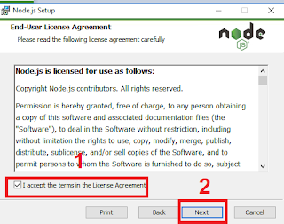 cara instal npm windows