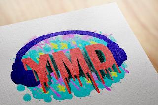 3D logo blog tempmock