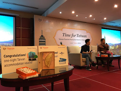TIME FOR TAIWAN - TAIWAN TOURISM PROMOTION EVENT