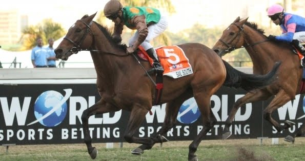 Sail South winning the WSB Champions Cup at Greyville