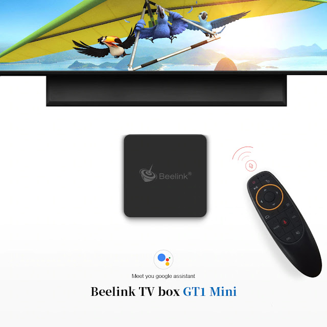 The New Beelink GT1 MINI with the new SoC S905X2 and Google Assistant
