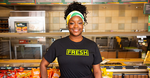 Kiesha Haggerty, Black woman police officer who owns Subway franchise