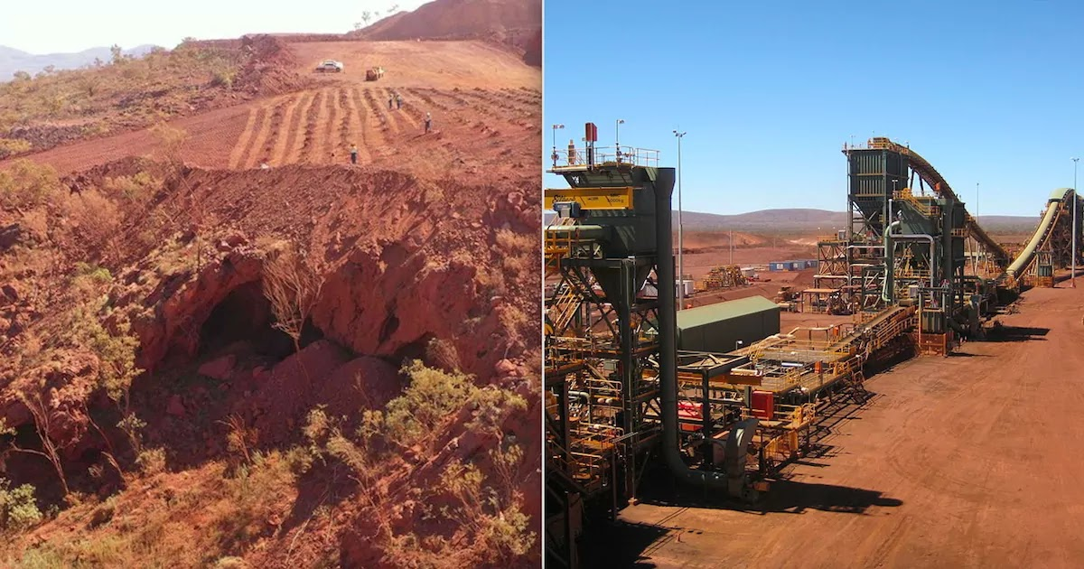 Mining Firm Rio Tinto Destroys 46,000-Year-Old Aboriginal Site In Australia In Order To Expand Iron Ore Mine