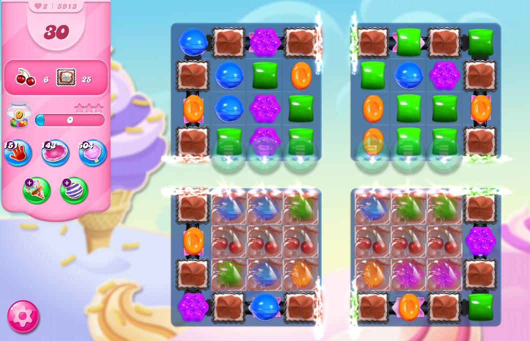Candy Crush Saga level 5913