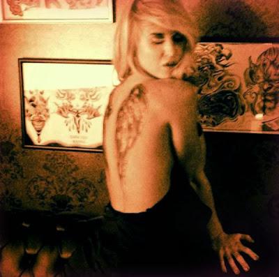 Tatuajes de Famosos : Jessica Cirio