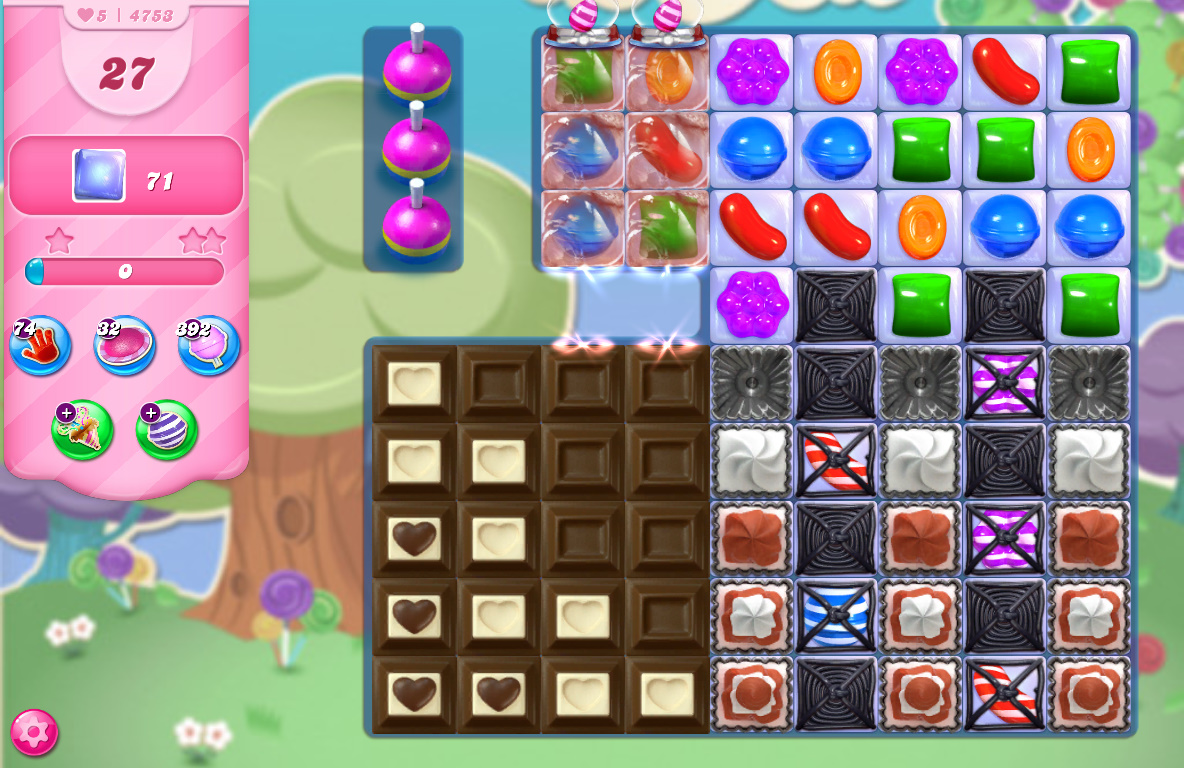 Candy Crush Saga level 4753