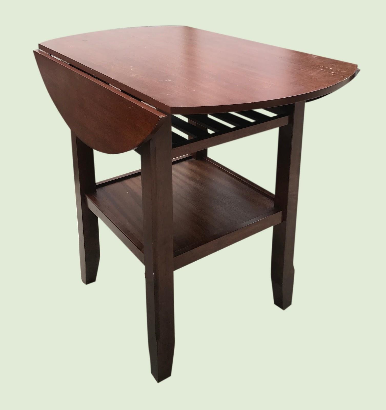 Free Pick Up Donations Furniture Uhuru Furniture & Collectibles: Drop-Leaf Pub Table - $125 ...