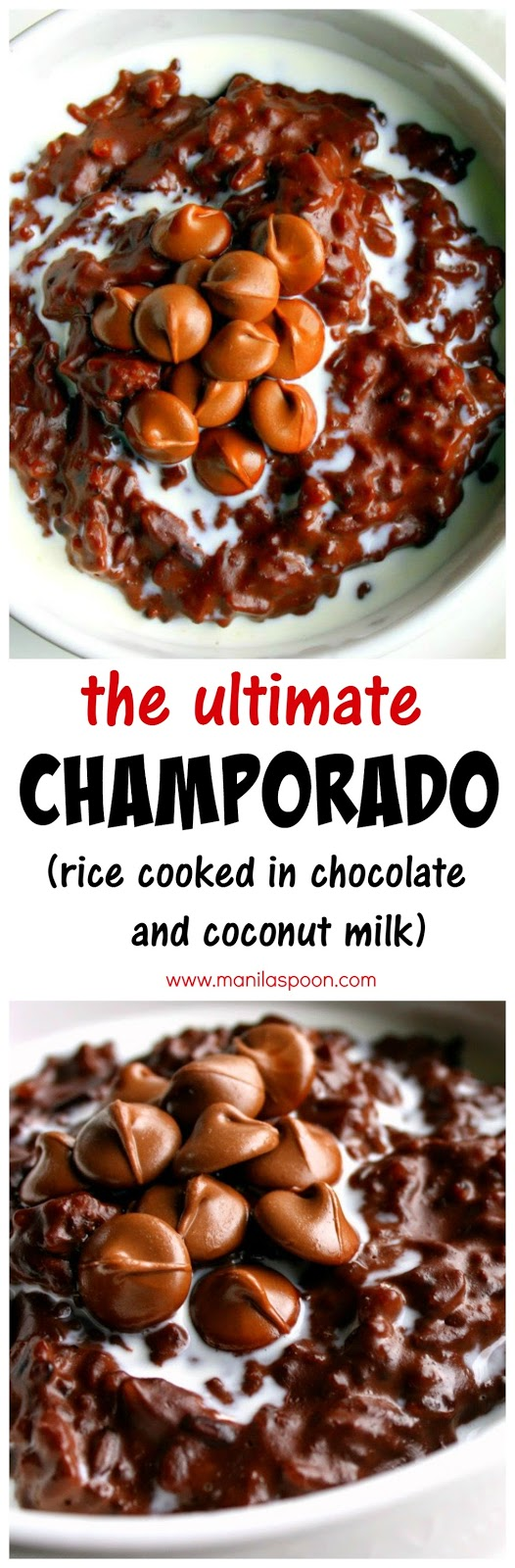 Champorado (Filipino Chocolate Rice Porridge/Pudding ...