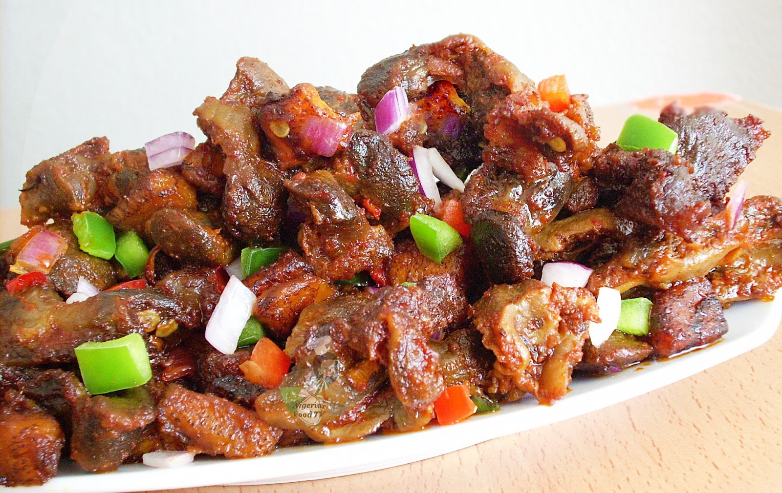 dodo gizzards, Gizdodo recipe,Nigerian Gizdodo recipe,Gizzards and Plantains