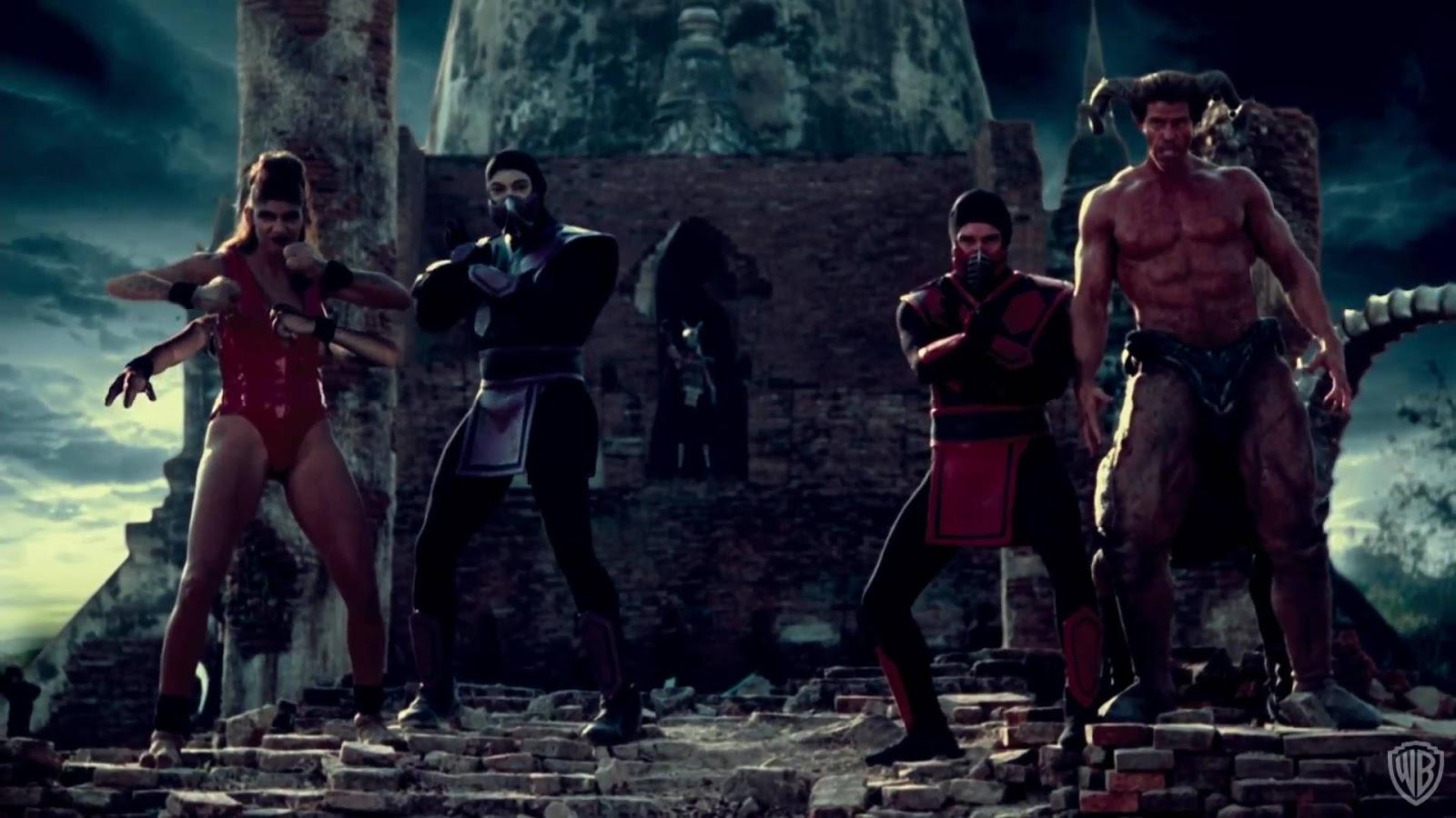 Merc With A Movie Blog Trash Bin Mortal Kombat Annihilation