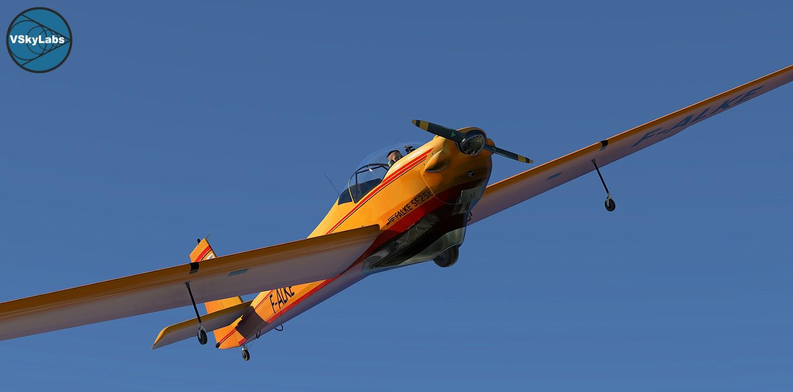 VSKYLABS Scheibe SF-25 Falke