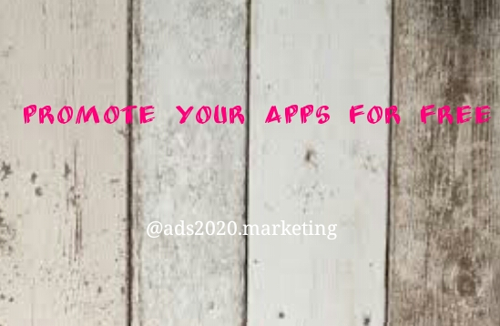 Promote your mobile apps for Free