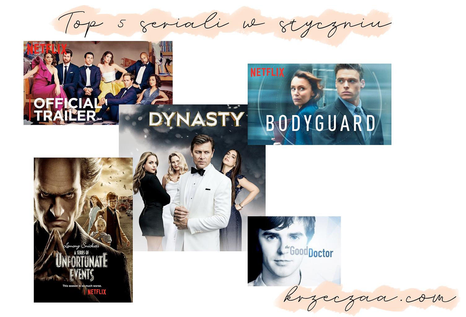 TOP 5: Ulubione seriale stycznia