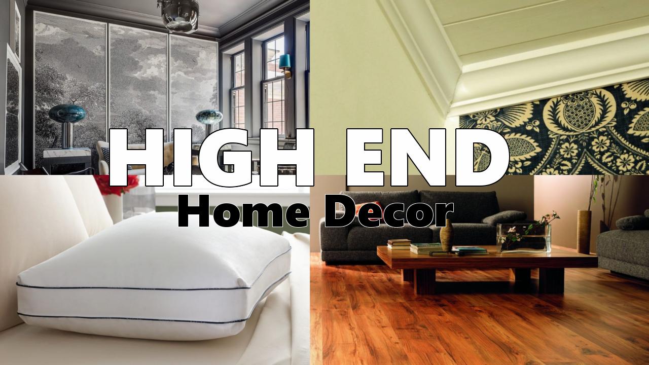 High End Home Décor via simphome.com