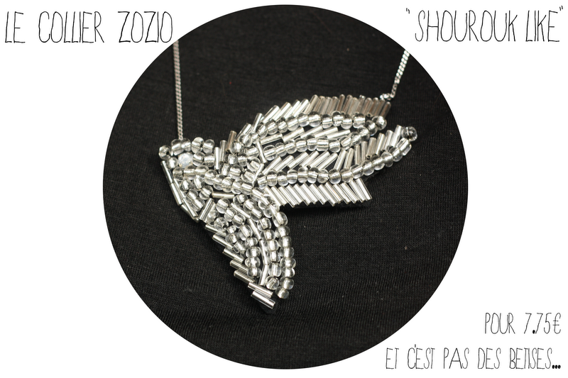 diy collier shourouk