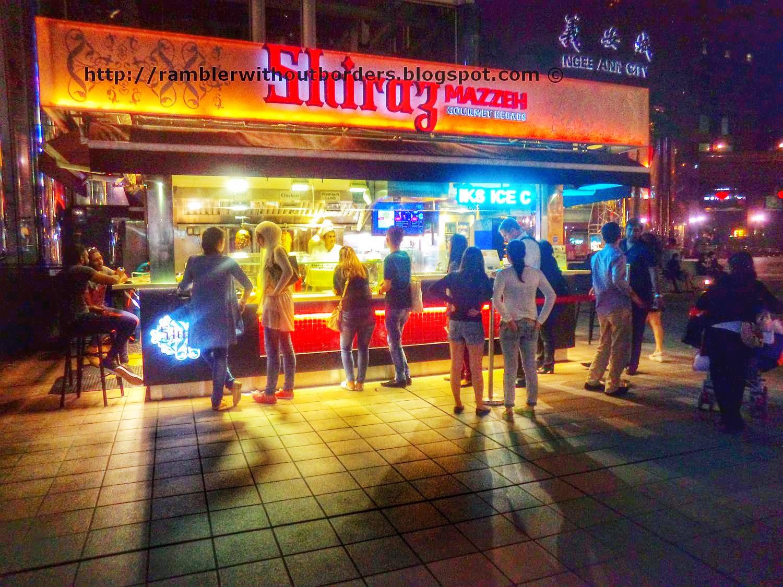 Shiraz Mazzeh, Orchard Road, Singapore
