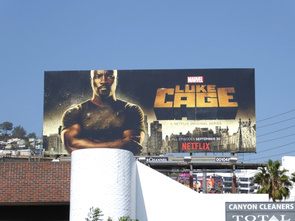 Luke Cage Netflix series billboard