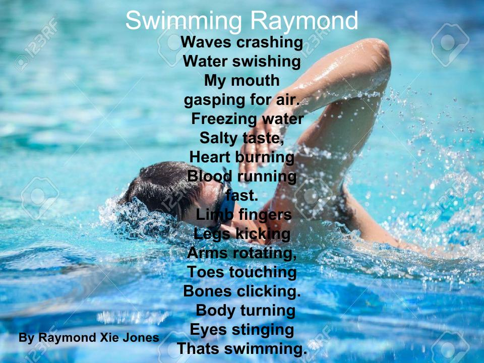 Swimming Poems 1