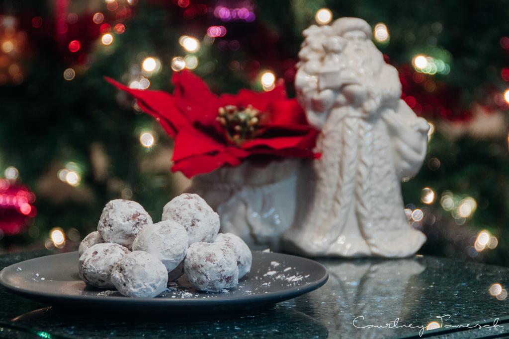 Courtney Tomesch Vegan Holiday Treats No Bake Oatmeal Balls