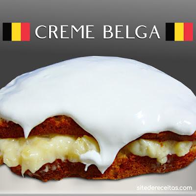 Receita de Creme belga