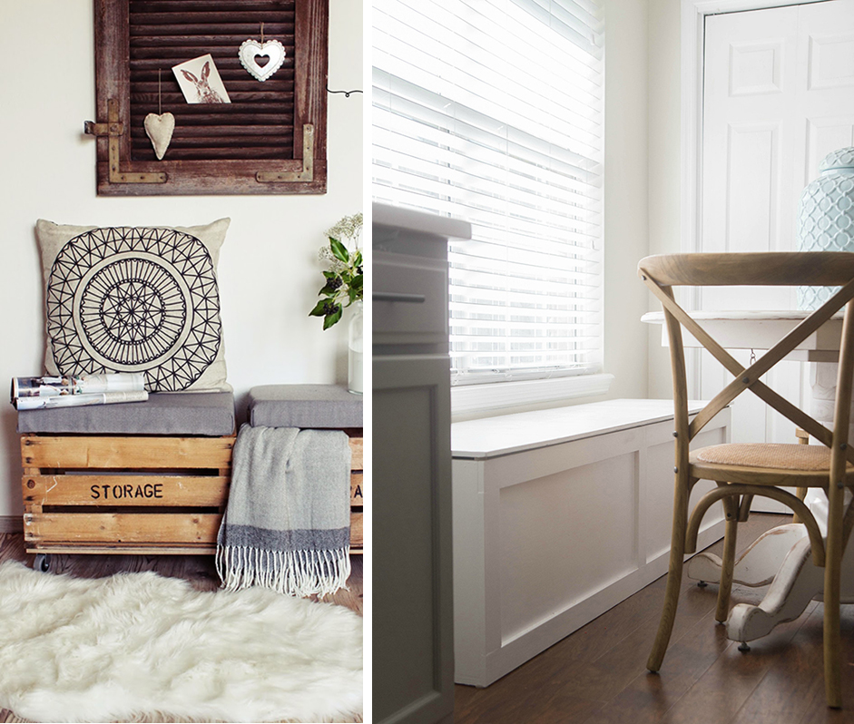 DIY to try # storage chest