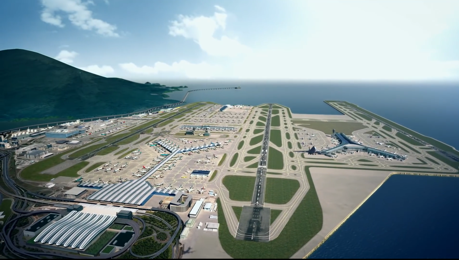 hong kong international airport essay The documentary video shows an extreme engineering works of constructing the hong kong international airport - summary of hong kong international airport project introduction.