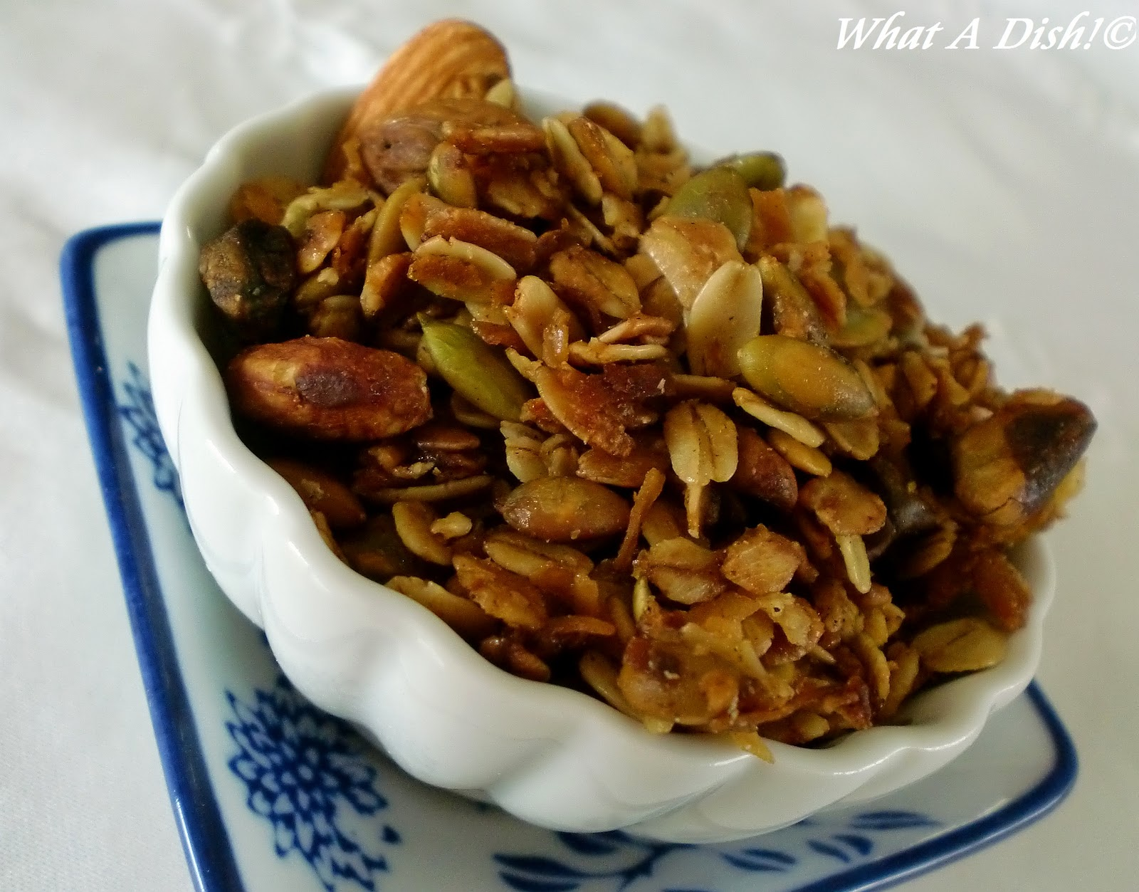 What A Dish Ny Times Olive Oil Granola