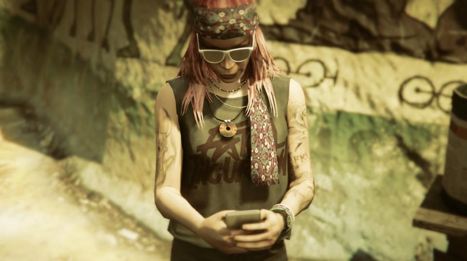 GTAV hippie girl