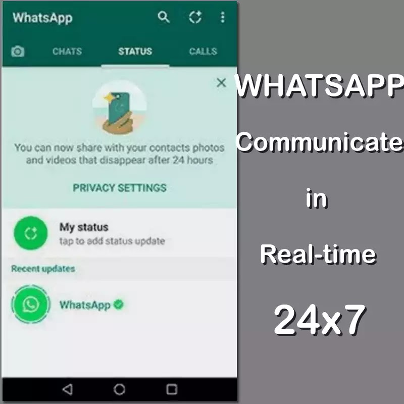 Whatsapp Updates Status Feature Cool Personalized 24 Hour