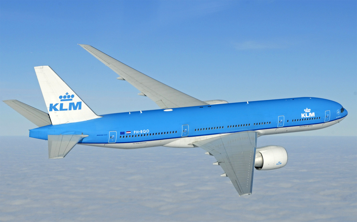 KLM Flight in Nigeria