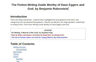 the best and curated guide on writing fiction stories