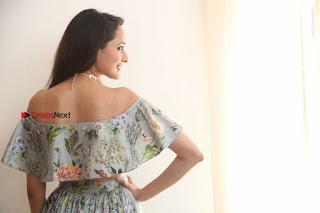 Actress Pragya Jaiswal Stills in Floral Dress at turodu Interview  0211.JPG