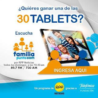[Sorteo] Participa en el sorteo de 30 tablet's