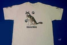 Siberian Husky dog breed t shirt