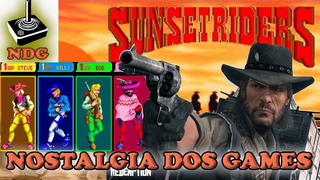 Sunset Riders Jogos baseados em histórias reais