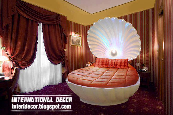 Shell Circular Bed Model And Design