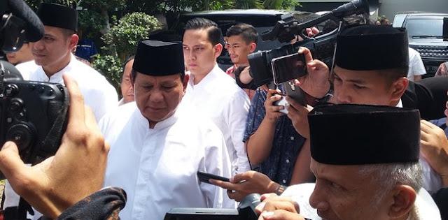 Prabowo Dilarang Jumatan di Masjid Kauman, Ini Kata BPN