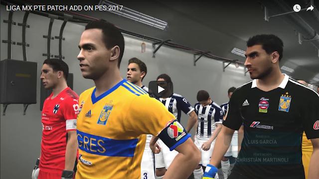 PES 2017 Liga MX Add On untuk PTE 6.0
