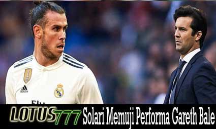 Solari Memuji Performa Gareth Bale