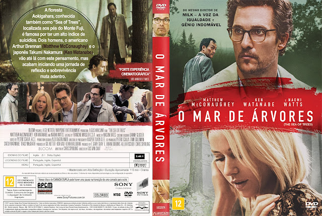 Capa DVD O Mar De Árvores